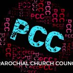 colourful pcc logo with reflections