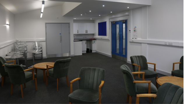 photo of Emmanuel Centre - room G1 - chairs & tables cafe style